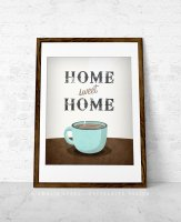 LATTE DESIGN | Home sweet home print | A3 アートプリント/ポスター