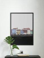 NOUROM | COPENHAGEN NYHAVN #1 | アートプリント/ポスター (50x70cm)の商品画像