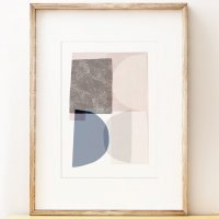 SHAPE COLOUR PATTERN | Abstract art print 'Monolith 1' art print | A3 アートプリント/ポスターの商品画像
