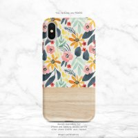 【ネコポス送料無料】SUGARLOAF GRAPHICS | YELLOW PINK FLOWER | iPhone 11 proケース