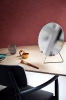 MOEBE | STANDING MIRROR (brass) 30cm | 卓上ミラー/鏡の商品画像