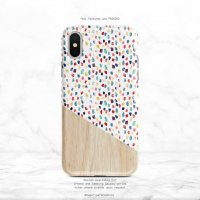 【ネコポス送料無料】SUGARLOAF GRAPHICS | COLORFUL BRUSH STROKE POLKA DOT | iPhone 11 proケース
