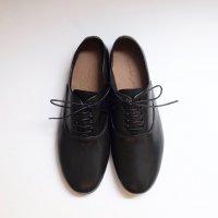 minan polku | soft balmoral shoes (black) | シューズの商品画像
