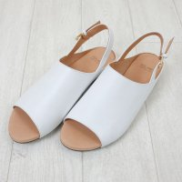 VOLARE | SANDAL OPEN TOE (white) | 38サイズ/24.0cmの商品画像