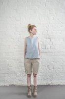 not PERFECT LINEN | LINEN SHORTS (natural) | ショートパンツ | レディース UK8/Sの商品画像