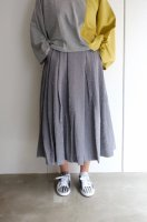"【SALE 30%オフ】rikolekt | ""memoryscapes""SKIRT (gray) Mサイズ | スカートの商品画像"