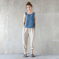 not PERFECT LINEN | LOOSE LINEN PANTS (natural) | ボトムス | レディース UK8/Sの商品画像