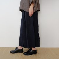 the last flower of the afternoon   かげとひかりのculotte pants (navy)   キュロットパンツ   Mサイズの商品画像