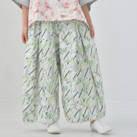 sneeuw (スニュウ)   ボタニカルプリントドローパンツ (colorB)   パンツの商品画像