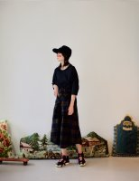 STORAMA | Checked Bottondwn Skirt (brown) | スカートの商品画像