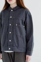LAITERIE   ソフトカツラギBigGジャン (sumikuro)   ジャケットの商品画像