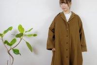 STAMP AND DIARY   ショールカラーAラインコート (camel)   アウターの商品画像