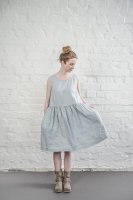 not PERFECT LINEN | LINEN DRESS (washed silver) | ワンピース | レディース UK8/Sの商品画像