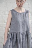 not PERFECT LINEN   LINEN DRESS (dark grey)   ワンピース   レディース UK8/Sの商品画像