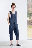 not PERFECT LINEN | LOOSE LINEN JUMPSUIT (charcoal) | UK10の商品画像