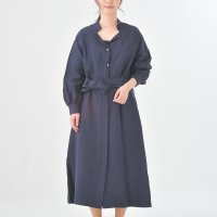 MB   Linen viscouse washer (navy)   ワンピースの商品画像