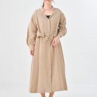 MB   Linen viscouse washer (beige)   ワンピースの商品画像