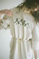 "rikolekt   ""EMBLEM DRESS"" (white)   ワンピースの商品画像"