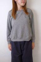 【SALE セール】Cion | オーガニックコットンスウェットシャツ (grey) | トップスの商品画像