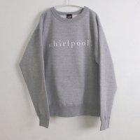 school | whirlpool SWEATSHIRT (heather grey) | 裏起毛スウェットの商品画像