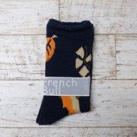 【SALE セール】French Bull (フレンチブル) | リーフソックス (ネイビー)  | ソックスの商品画像