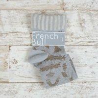 French Bull (フレンチブル)   マカロニソックス (ブラウン)   ソックス【シンプル 可愛い 靴下】の商品画像