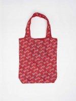 LISA LARSON (リサ・ラーソン) | マイキー (red) | エコバッグ【ネコポス配送OK 北欧 トートバッグ セカンドバッグ かわいい】の商品画像