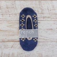French Bull (フレンチブル) | チロルカバー (インディゴ) | ソックス【シンプル 可愛い 靴下】の商品画像