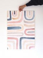 SILKE BONDE | LABYRINTH POSTER | アートプリント/ポスター (50x70cm)の商品画像