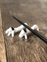 ELEONOR BOSTROM (エレオノール・ボストロム) | うたたねしている犬 (black) | 箸置き 【北欧 キッチン かわいい ギフト】の商品画像