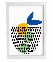 ANEK | Citrus Bowl (white) Poster | アートプリント/ポスター (50x70cm)【北欧 カフェ レストラン インテリア おしゃれ】の商品画像