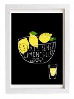 ANEK | LIMONCELLO Art Poster | アートプリント/ポスター (50x70cm)【北欧 カフェ レストラン レモン インテリア おしゃれ】の商品画像
