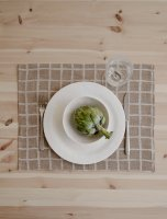 FINE LITTLE DAY | RUTIG JACQUARD WOVEN PLACE MAT (brown) (no.37112-PM) | ランチョンマットの商品画像