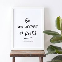 OLD ENGLISH CO. | BE AN OPENER OF DOORS PRINT | A3 アートプリント/ポスターの商品画像