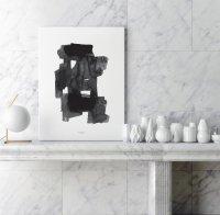 aboutgraphics   SQUARED #1   アートプリント/ポスター (50x70cm)【北欧 デンマーク シンプル おしゃれ】の商品画像