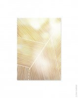 dear musketeer | YELLOW STRIPES PRINT | A3 アートプリント/ポスター の商品画像