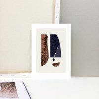 【ネコポス送料無料】LACE & STRIPES | SHAPES IV | A4 アートプリント / ポスター【北欧 シンプル インテリア モダン】の商品画像