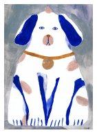 CLARA SELINA BACH | GUARDIAN DOG | A3 アートプリント/ポスターの商品画像