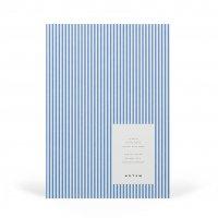 【ネコポス送料無料】NOTEM | VITA NOTEBOOK MEDIUM (blue lines) | ノートブック ドット方眼【北欧 デンマーク シンプル】の商品画像