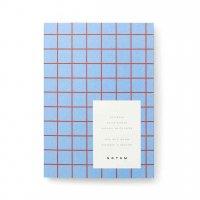 【ネコポス送料無料】NOTEM | UMA NOTEBOOK SMALL, A6 (light blue) | ノートブック 罫線【北欧 デンマーク シンプル】の商品画像