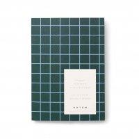 【ネコポス送料無料】NOTEM | UMA NOTEBOOK SMALL, A6 (dark green) | ノートブック 罫線【北欧 デンマーク シンプル】の商品画像