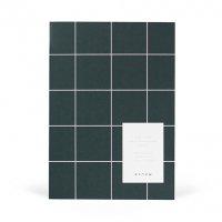 【ネコポス送料無料】NOTEM | MILO WEEKLY PLANNER BOOK (dark green) | ウィークリープランナー【北欧 デンマーク シンプル】の商品画像