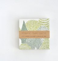 【ネコポス送料無料】TILISSIMO | EVERGREEN FOREST - CERAMIC TILE COASTER | セラミックコースター 2枚セット【北欧 シンプル】の商品画像