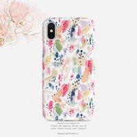 【ネコポス送料無料】SUGARLOAF GRAPHICS   WATERCOLOR STROKE COLORFUL   iPhone 7/8/SE(第2世代)ケースの商品画像