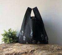 【ネコポス送料無料】ATELIER SETTEMBRE | HAND PAINTED BLACK TOTE BAG #1 | トートバッグ/ショッピングバッグの商品画像