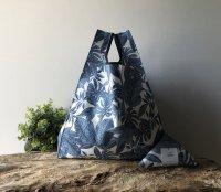【ネコポス送料無料】ATELIER SETTEMBRE | TROPICAL FLOWER TOTE BAG (blue) | トートバッグ/ショッピングバッグ【お買い物バッグ エコバッグ】の商品画像