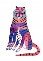 ASHLEY PERCIVAL | BIG TIGER | A3 ポスター/アートプリントの商品画像