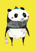 ASHLEY PERCIVAL | THE PANDA | A3 ポスター/アートプリントの商品画像