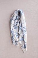 hatsutoki | summer wind ストール (ブルー) 【ハツトキ ナチュラル 播州織】の商品画像