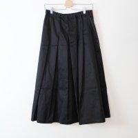 STAMP AND DIARY | タックプリーツスカート (black) | ボトムスの商品画像